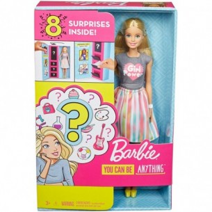 Barbie Carriera a Sorpresa - Bambola con accessori