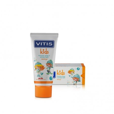 DENTAID - Vitis Kids - gel dentifricio per bambini 50 ml