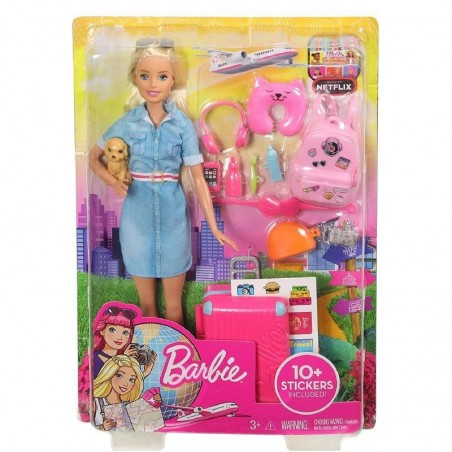 MATTEL - Barbie Traveller - Bambola