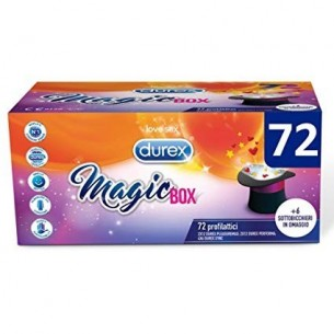 Magic Box - confezione da 72 preservativi misti