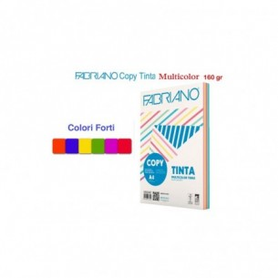 Risma Copy Tinta Multicolor Forti - Carta A4 100 fogli