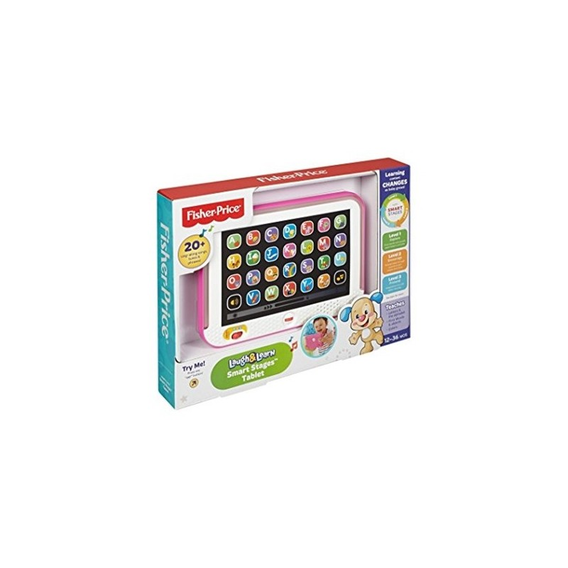 FISHER-PRICE - Smart Stages - Tablet Educativo - colori assortiti