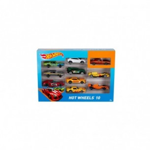 Hot wheels Set Da 10 Macchinine Assortite