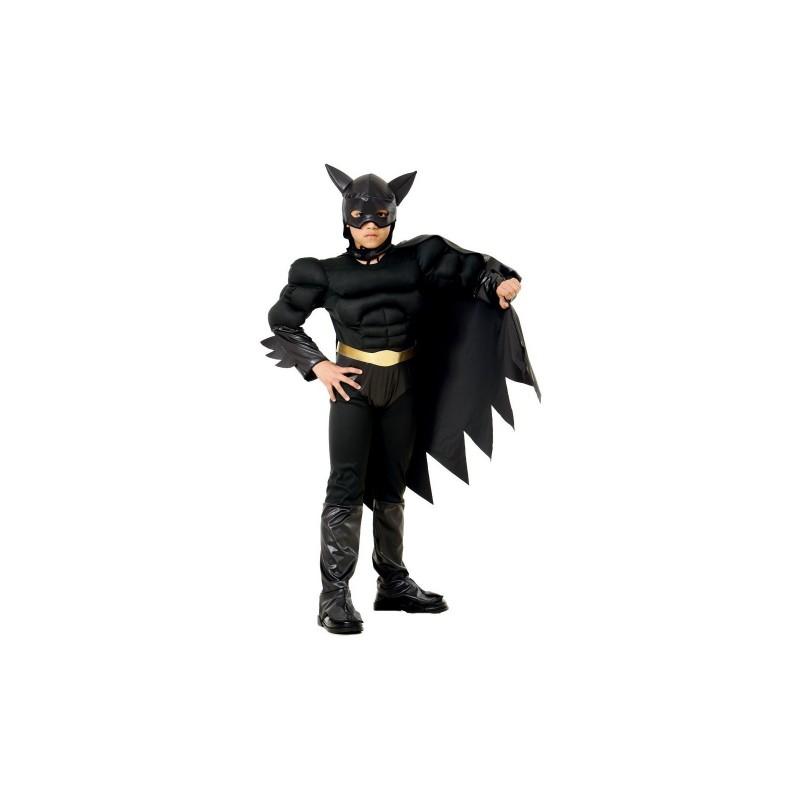 TOPWELL - Bat Hero - Costume con muscoli Taglia M