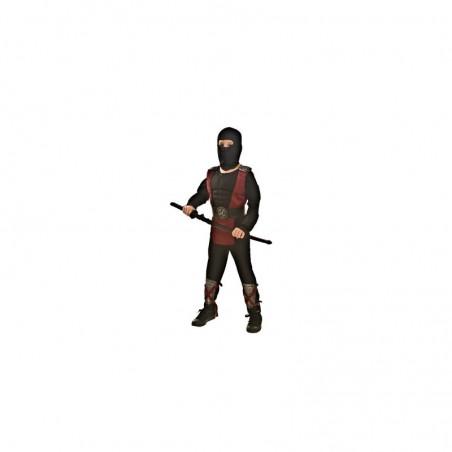 TOPWELL - Ninja - costume con muscoli Taglia S