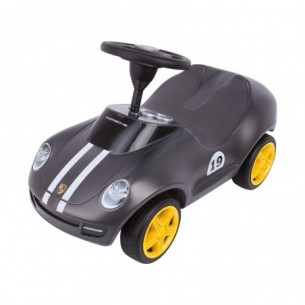 Bobby Car  - Baby Porsche macchina a spinta nera
