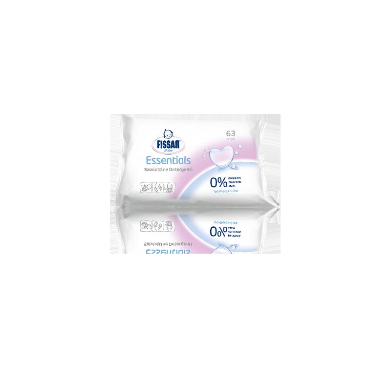FISSAN - Baby Essential - 63 Salviettine detergenti