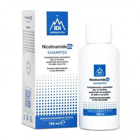 IDI FARMACEUTICI - Nicotinamide DS - Shampoo antiforfora 100 ml