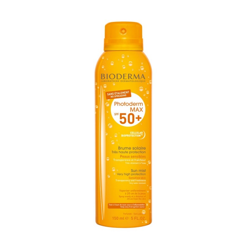 Bioderma - photoderm max brume spf50+ - protezione solare spray 150 ml
