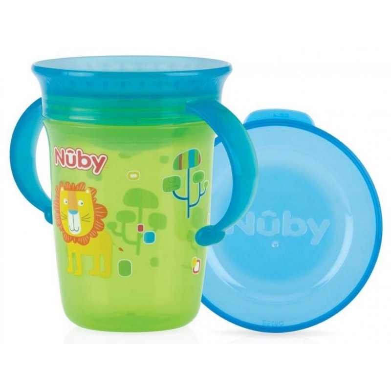 NUBY - Wonder Cup - Tazza 240 ml colori assortiti
