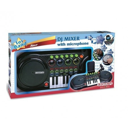 BONTEMPI - DJ Mixer - consolle con Microfono