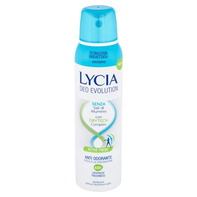 LYCIA - Deo Evolution Active Fresh - Deodorante Spray 150 ml