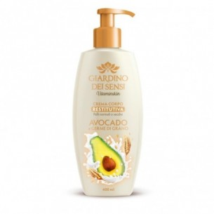 Crema corpo restitutiva Avocado e Germe di Grano 400 ml