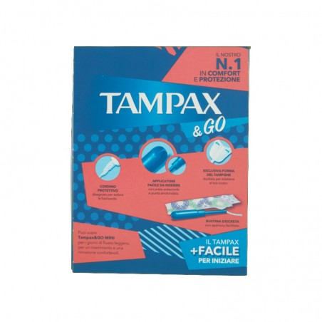 TAMPAX - mini 18 assorbenti interni