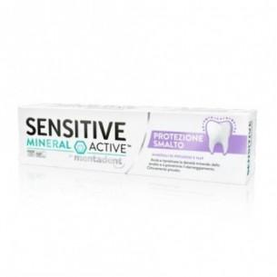 Sensitive mineral active protezione smalto - dentifricio protettivo 75 ml