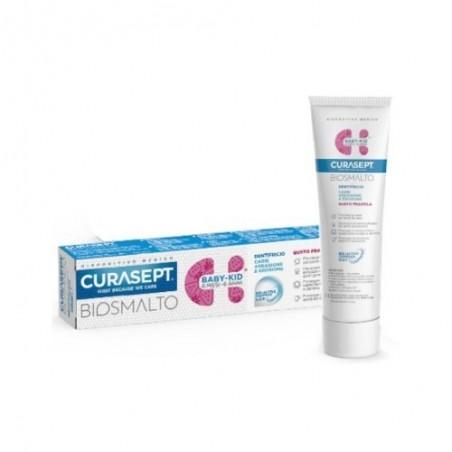 CURASEPT - biosmalto baby- kid 6m-6a - dentifricio senza fluoro 50 ml