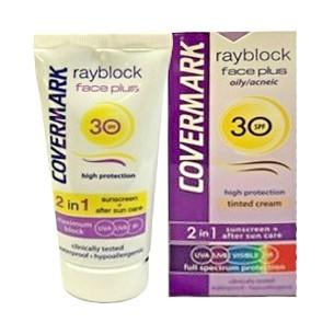Rayblock Face Plus dry/sensitive SPF30 2in1 - Protezione solare colorata - soft brow