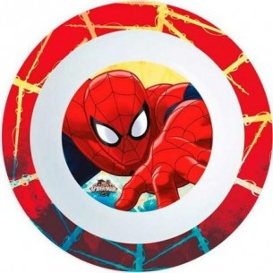 piatto fondo spiderman 16 cm