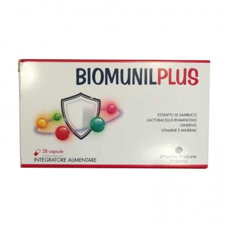PIERRE FABRE - biomunilplus 28 capsule - integratore per il sistema immunitario