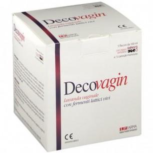 Decovagin 5 flaconi + 5 cannule - Lavanda vaginale con fermenti lattici