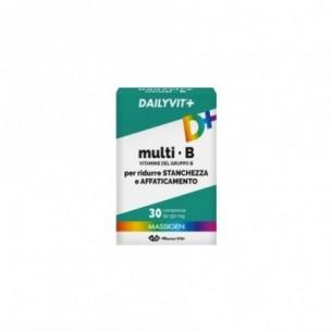 Massigen Dailyvit+ Multi B 30 Compresse - Integratore Per Il Tono Psico-Fisico