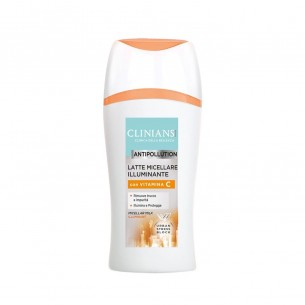 antipollution - latte micellare illuminante 200 ml