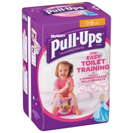 HUGGIES - huggies pul ups girl - 29 mutandine assorbenti 8-15kg