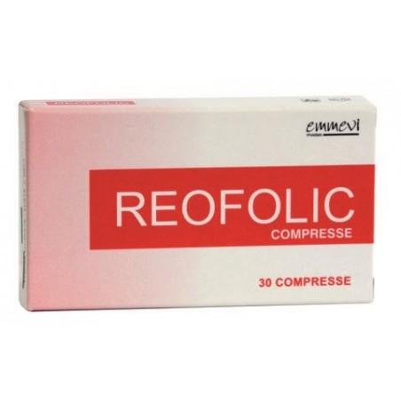 EMMEVI PHARMA - Integratore Alimentare Antiossidante  Reofolic Antiox 30 Capsule