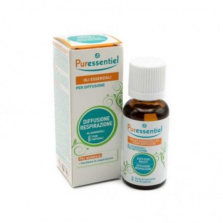 PURESSENTIEL - Oli essenziali per diffusione per la Respirazione 30 ml