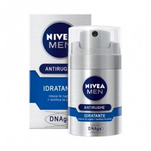 DNAge Men - Crema viso antirughe idratante 50 ml (Confezione Danneggiata)