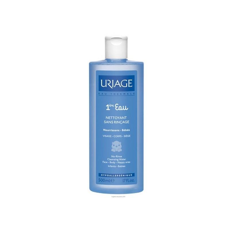 URIAGE - premiere eau nettoyante - acqua detergente delicata 500 ml