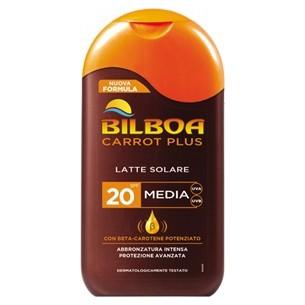 carrot plus - latte solare spf 20 protezione media 200 ml (Prodotto Non Blisterato)
