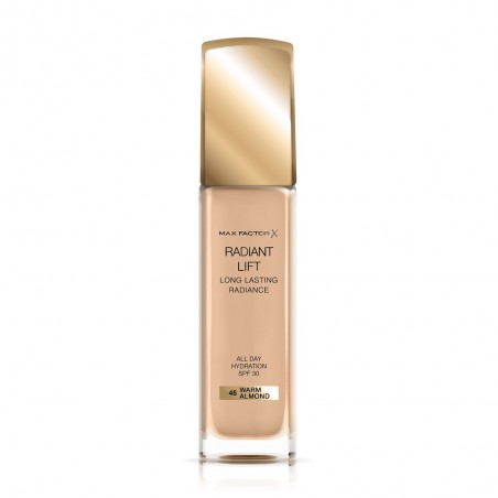 MAX FACTOR - Radiant Lift - Fondotinta n.45 warm almond