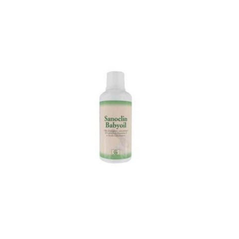 Abbate Gualtiero - Sanoclin Babyoil - Olio Detergente per bambini 500 ml