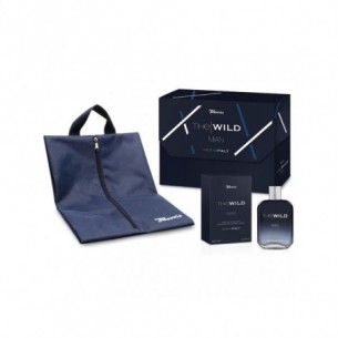 cofanetto the wild man - edt 100 ml + portascarpe da viaggio