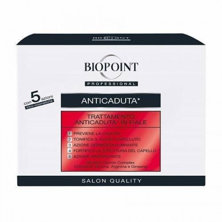 BIOPOINT - Trattamento Anticaduta 10 fiale da 7 ml