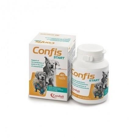 CANDIOLI - Confis Start 40 compresse - mangime complementare dietetico per cani