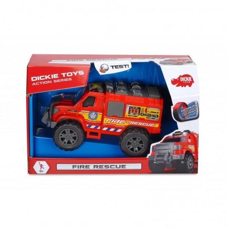 DICKIE TOYS - Fire Rescue - il camion dei pompieri