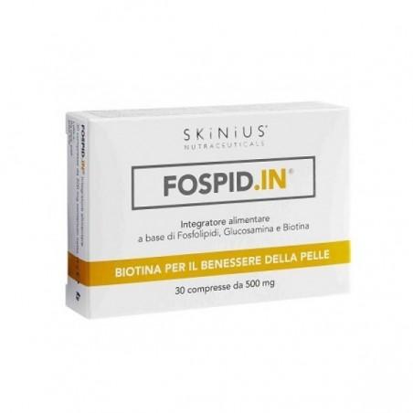 SKINIUS - Fospid.In 30 Compresse - Integratore per il benessere della pelle