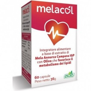 melacol 60 capsule - integratore per il metabolismo dei grassi