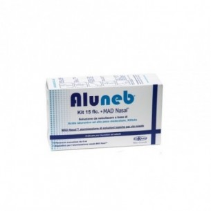 Aluneb - Soluzione da nebulizzare 15 Fiale + MadNasal