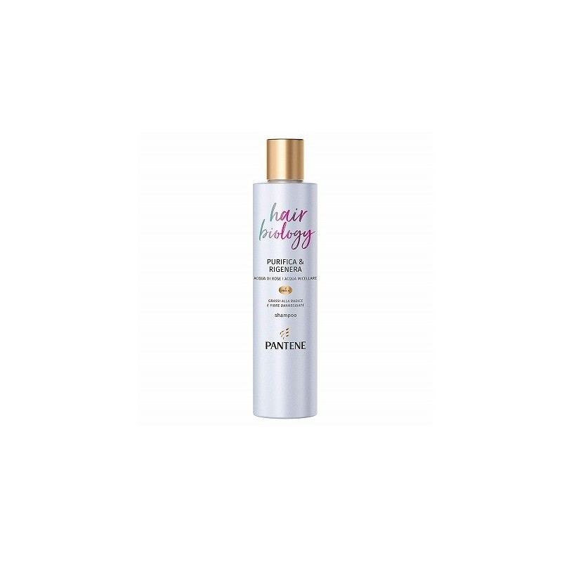 Pantene - Pro-V Hair Biology - purifica e rigenera shampoo per capelli grassi 250 ml
