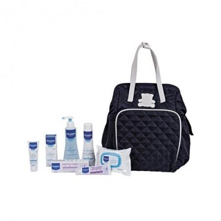 MUSTELA - my baby bag - zaino borsa fasciatoio con prodotti per il cambio