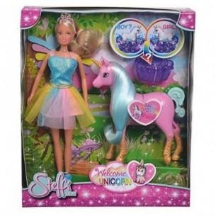 steffi love - bambola welcome unicorn