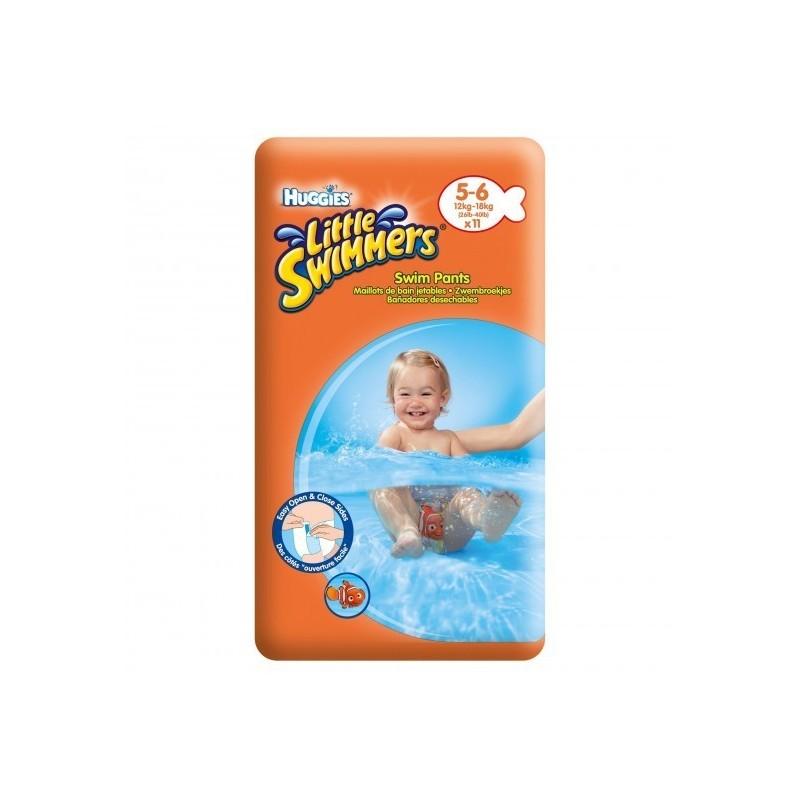 HUGGIES - little swimmers - 11 pannolini costumino taglia l 14+ kg