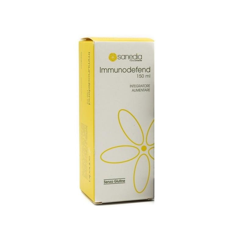 SANEDIA - immunodefend 150 ml - integratore alimentare immunostimolante