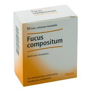 Heel - Fucus Compositum 10 fiale iniettabili - sistema immunitario e ghiandole