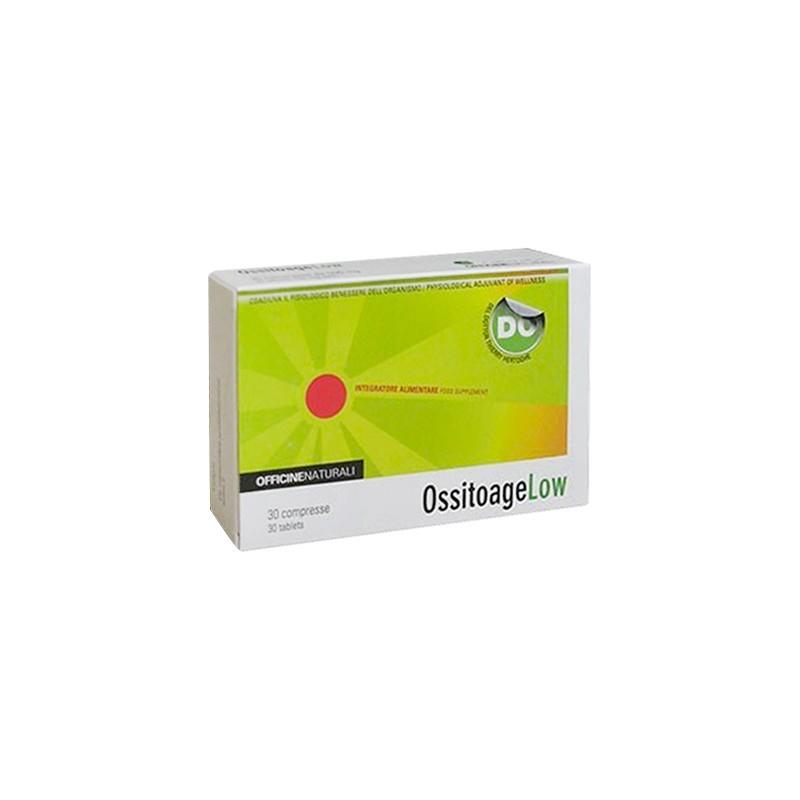 OFFICINE NATURALI - ossitoage low 30 compresse - integratore per l'energia fisica e mentale