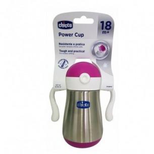 Power Cup - bottiglia in acciaio 18 m+ rosa
