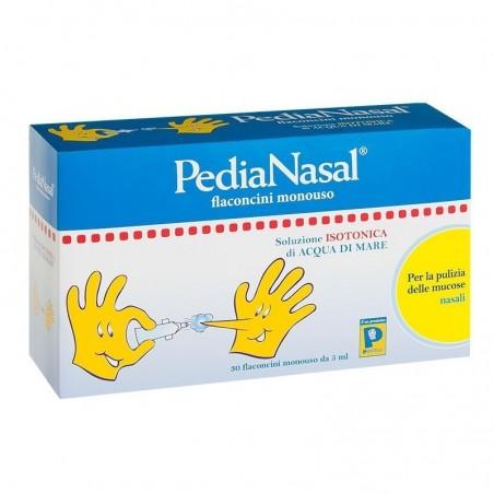 PEDIATRICA SPECIALIST - Pedianasal 30 flaconcini  da 5 ml - Soluzione isotonica di acqua di mare